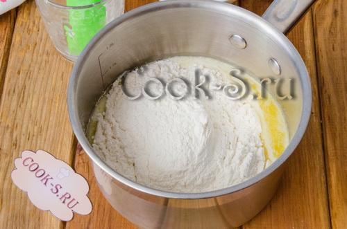Как в домашних условиях сделать заварное тесто