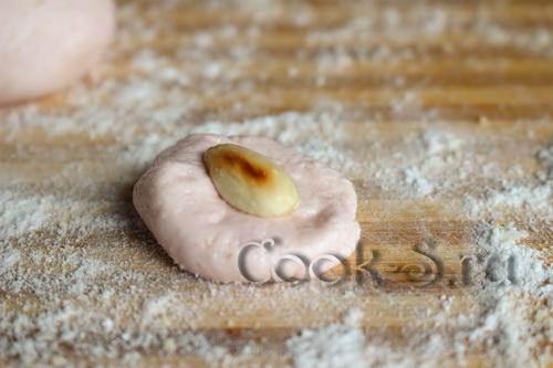 конфеты из маршмеллоу с миндалем