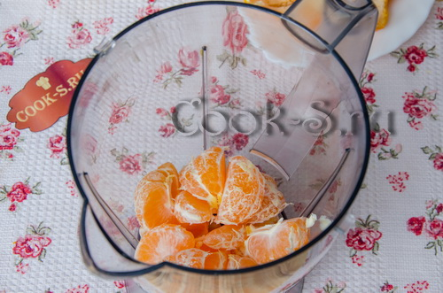 Мандариновое мороженое в домашних условиях рецепт