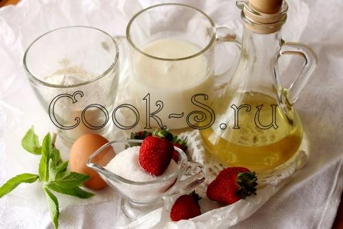 оладьи на кислом молоке - ингредиенты
