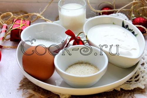 панакота - ингредиенты