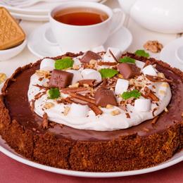 Шоколадный пирог «Грязь Миссисипи»