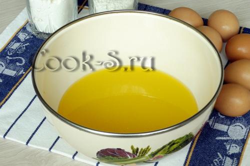 растопленый маргарин
