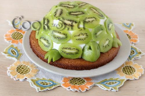 торт изумрудная черепаха рецепт