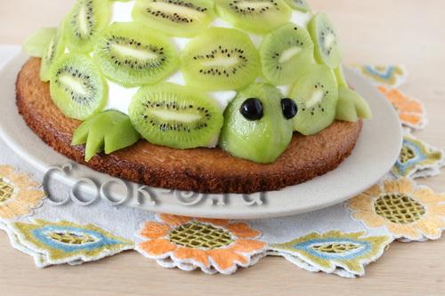 торт изумрудная черепаха фото
