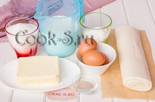 Слоеное полено торт рецепт