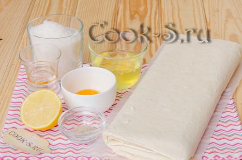 пирожное трубочки с белковым кремом рецепт