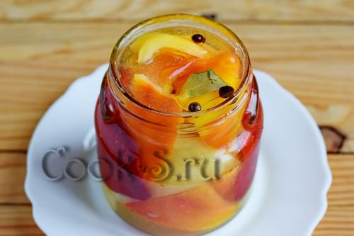 болгарский перец в меду на зиму рецепты с фото