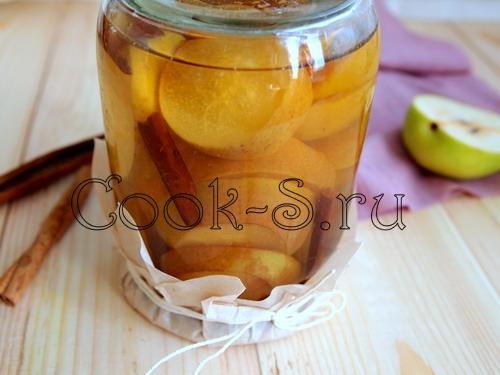 Как сделать сироп для груш на зиму