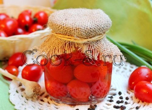маринованные помидоры чери