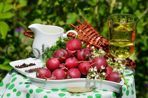 салат из редиски на зиму - ингредиенты