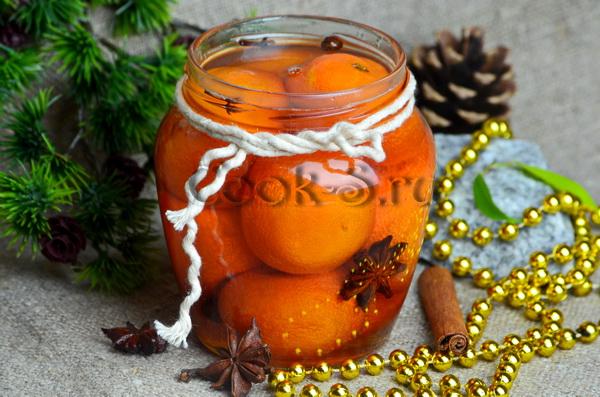 Варенье из мандарин рецепт пошагово