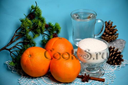апельсиновый ликер - ингредиенты