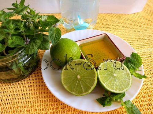 безалкогольный мохито - ингредиенты