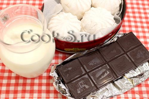 Зефир с шоколадом в духовке рецепт