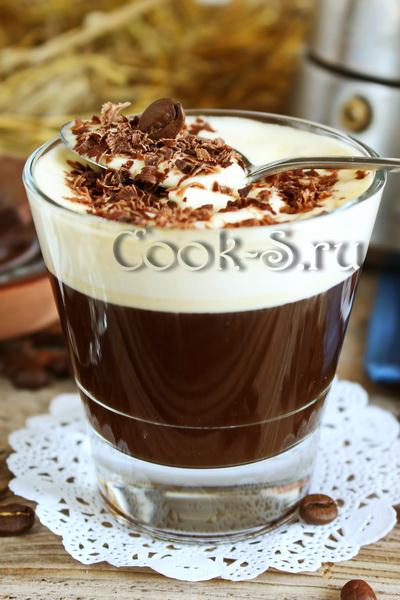 кофе по венски со сливками