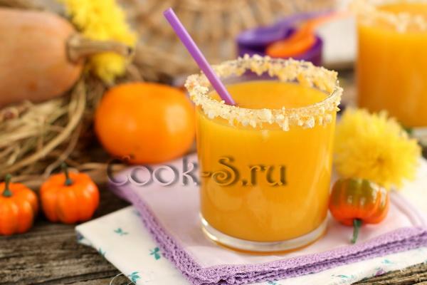 Тыквенный сок с апельсинами рецепт