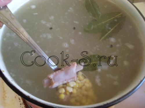 гороховый суп - варить