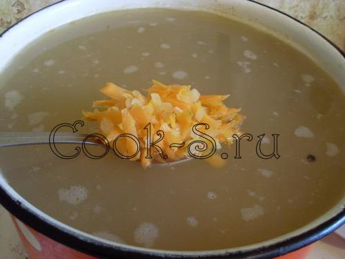 гороховый суп - зажарка