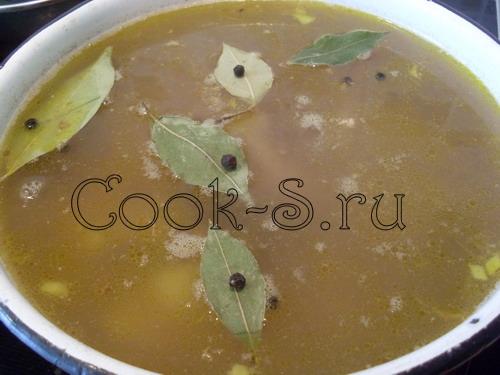 Рецепт гречневого супу