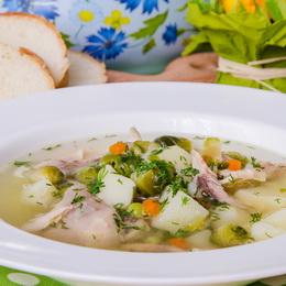 как приготовить суп из консервов рыбы