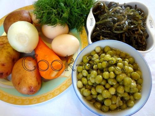 Суп морской капусты рецепт