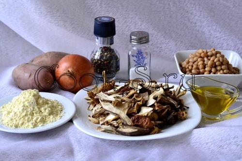 суп из сушеных грибов - ингредиенты