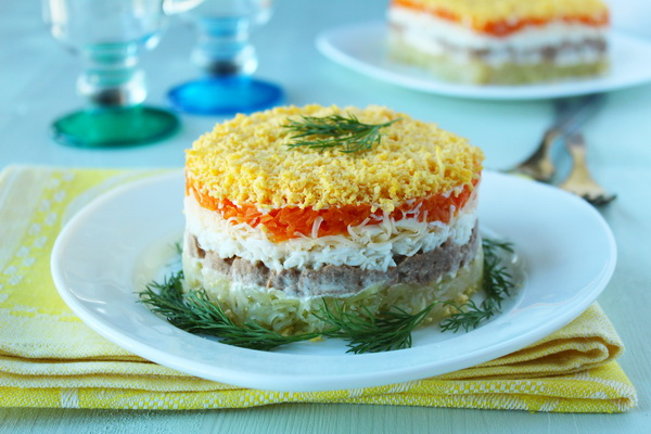 Салат мимоза рецепты классический