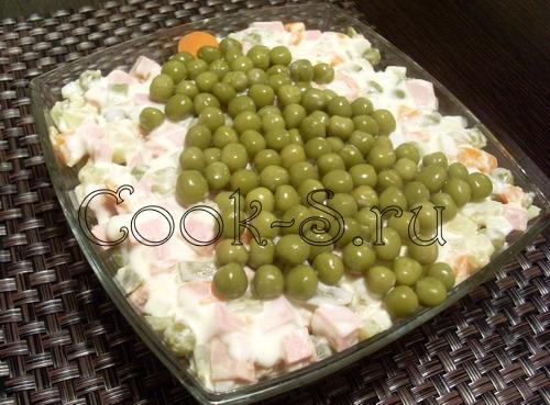 Кулинария фото салата оливье