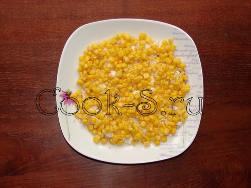 салат с ананасом и курицей - фото 2