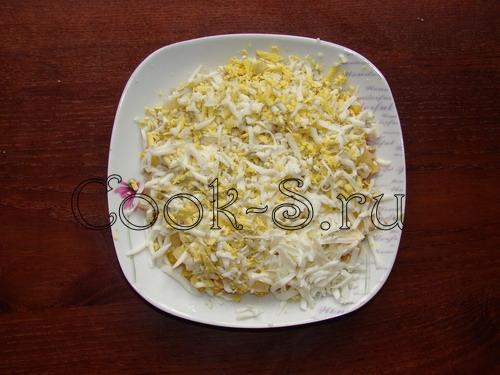 салат с ананасом и курицей - фото 4