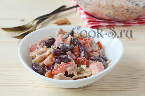 Рецепты салатов из помидоров и сухариков