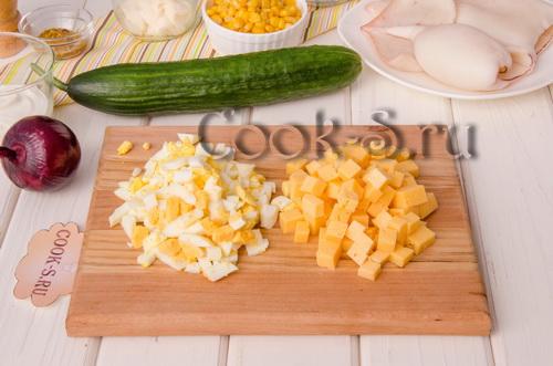 яйца и сыр