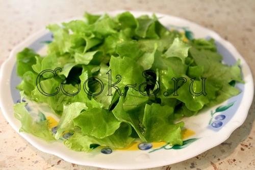 Салат з креветками рецепт з фото