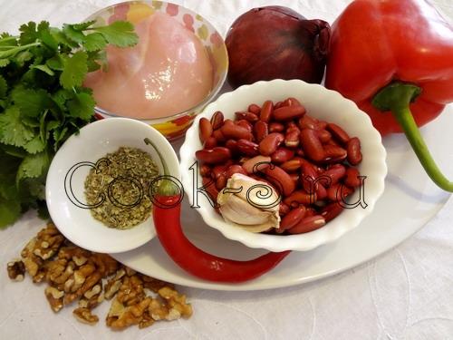 салат тбилиси - ингредиенты