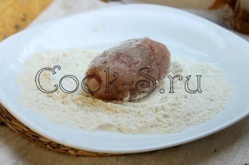 Котлеты по киевски из фарша индейки рецепт