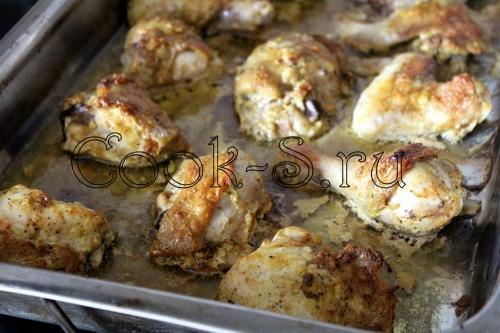 курица разделанная в духовке рецепт с фото