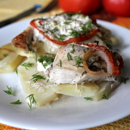Азу по-татарски с солеными огурцами с картошкой - рецепт с фото