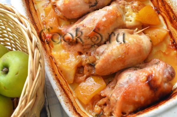 Фаршированные бедрышки рецепт фото