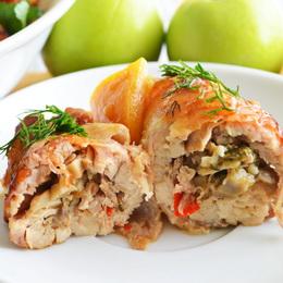 Бедро куриное с грибами рецепт пошагово 39