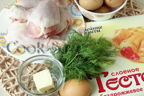 Куриные ножки в мешочке из теста рецепт пошагово