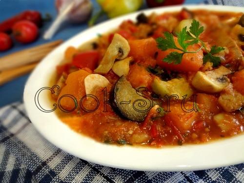 Овощное рагу с кабачками рецепт с курицей 85