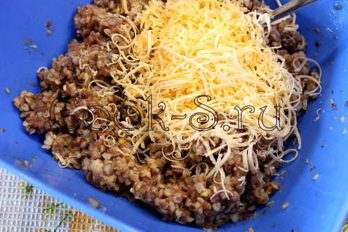Гречневые колобки (котлеты из гречки и фарша) - Пошаговый рецепт с фото, Блюда из мяса