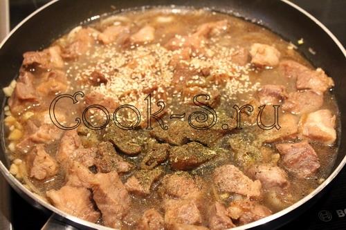Подливка из свинины рецепт пошагово в мультиварке