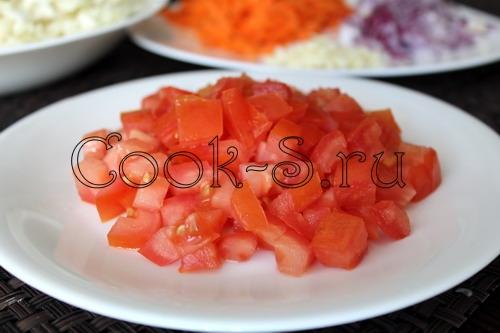 Капуста тушеная с помидорами - Пошаговый рецепт с фото, Блюда из овощей