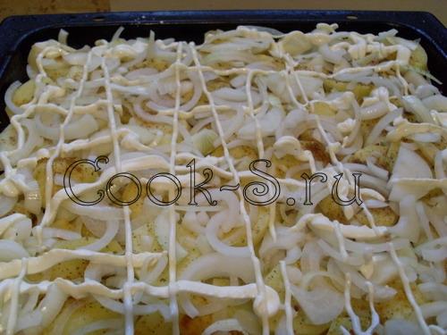 как запекать картошку с майонезом в духовке