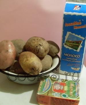 картофельное пюре - ингредиенты