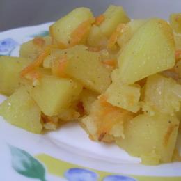 картошка тушеная в духовке