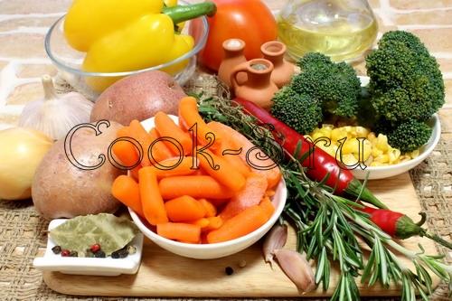 рагу из овощей - ингредиенты