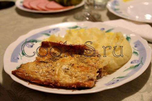 Горбуша с сыром в духовке рецепты с пошагово с
